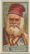 Greece, from the Types of All Nations series (N24) for Allen & Ginter Cigarettes