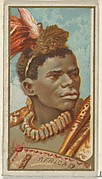 Africa, from the Types of All Nations series (N24) for Allen & Ginter Cigarettes