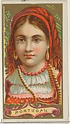 Portugal, from the Types of All Nations series (N24) for Allen & Ginter Cigarettes