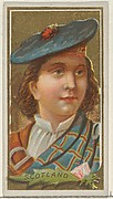 Scotland, from the Types of All Nations series (N24) for Allen & Ginter Cigarettes