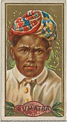 Sumatra, from the Types of All Nations series (N24) for Allen & Ginter Cigarettes