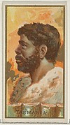 Tasmania, from the Types of All Nations series (N24) for Allen & Ginter Cigarettes