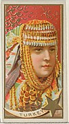 Turkey, from the Types of All Nations series (N24) for Allen & Ginter Cigarettes