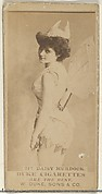 Card Number 216, Daisy Murdoch, from the Actors and Actresses series (N145-7) issued by Duke Sons & Co. to promote Duke Cigarettes