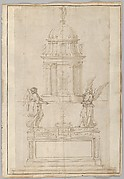 Design for the Tabernacle of the Sistine Chapel in the Santa Maria Maggiore in Rome