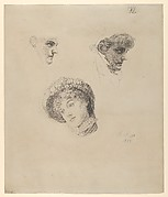 Three Studies of Heads of Women