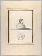 Project for a Fountain for La Place Louis XV