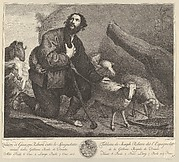 The Prodigal Son Tending Sheep