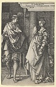 Absalom Comforting Tamar, from The Story of Amnon and Tamar
