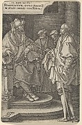 Absalom Inviting David and His Brothers, from The Story of Amnon and Tamar