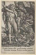 Hercules Fighting the Hydra of Lerna, from The Labors of Hercules