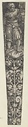 Design for a Dagger Sheath, with Executioner and Head of John the Baptist