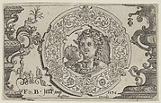 Horizontal Panel with Bacchus in a Medallion
