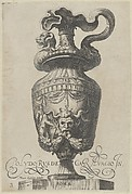 Plate 3: Vase with a monster's head and festoons, from Antique Vases