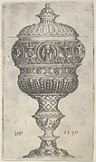 Goblet with Round Medallions