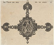 Design for a Brooch with Judith Holding the Head of Holofernes