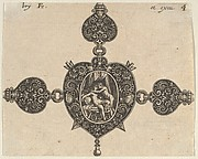 Design for a Heart-Shaped Brooch
