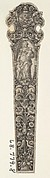 Design for a Knife Handle with the Personification of Charity