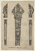 Design for a Knife Handle with the Sermon on the Mount