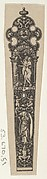 Design for a Knife Handle with the Temptation of Adam and Eve