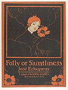 Folly or Saintliness / José Echegaray / Lamson Wolffe and Co / Boston and New York