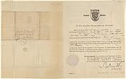 Charles St. Memin's American Passport