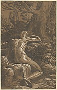 Narcissus (Man Seated Seen from the Back)