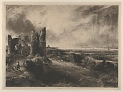 Hadleigh Castle: Large Plate