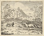 Renard Lies that the Rabbit Insulted One of His Children from Hendrick van Alcmar's Renard The Fox