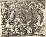 Renard Asks for Confession from Hendrick van Alcmar's Renard The Fox