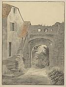 Entryway to Schloss Epstein