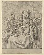 The Holy Family with Saint Clare