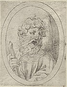 St. Paul, from Christ, the Virgin, and Thirteen Apostles