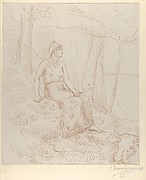Seated Figure (from L'Estampe originale, Album IV)