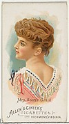 Mrs. George Gould (Edith M. Kingdon), from World's Beauties, Series 1 (N26) for Allen & Ginter Cigarettes