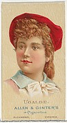 Ugalde, from World's Beauties, Series 2 (N27) for Allen & Ginter Cigarettes