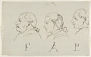 Three Portraits in Profile