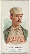 John Clarkson, Baseball Player, from World's Champions, Series 1 (N28) for Allen & Ginter Cigarettes