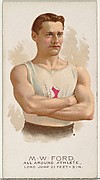 M.W. Ford, All Around Athlete, from World's Champions, Series 2 (N29) for Allen & Ginter Cigarettes