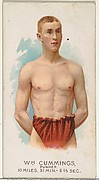 William Cummings, Runner, from World's Champions, Series 2 (N29) for Allen & Ginter Cigarettes