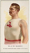 W.J.M. Barry, Hammer Throw, from World's Champions, Series 2 (N29) for Allen & Ginter Cigarettes