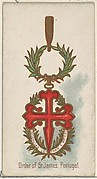 Order of St. James, Portugal, from the World's Decorations series (N30) for Allen & Ginter Cigarettes