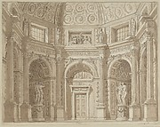 Interior of an Octagonal Room (Stage Design?)