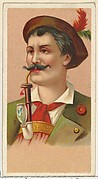 Bavarian Hunter, printer's sample from World's Smokers series (N33) for Allen & Ginter Cigarettes