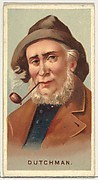 Dutchman, from World's Smokers series (N33) for Allen & Ginter Cigarettes