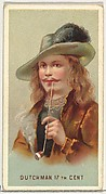 17th Century Dutchman, from World's Smokers series (N33) for Allen & Ginter Cigarettes