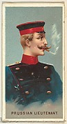 Prussian Lieutenant, from World's Smokers series (N33) for Allen & Ginter Cigarettes