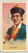 Tibet, from World's Smokers series (N33) for Allen & Ginter Cigarettes