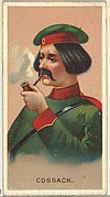Cossack, from World's Smokers series (N33) for Allen & Ginter Cigarettes