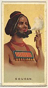 Sudan, from World's Smokers series (N33) for Allen & Ginter Cigarettes